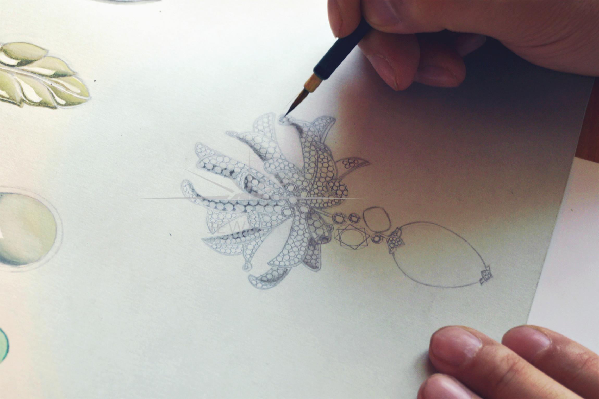 上海珠宝设计手绘培训